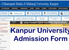 kanpur university admission form 2021-22 last date fees, merit list