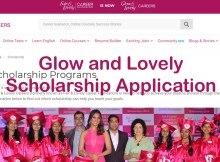 Glow and Lovely Scholarship 2021 - 2022 Application Form Last Date, Eligibility