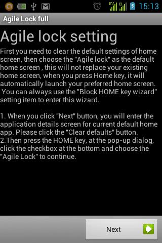 Agile Lock Wizzard