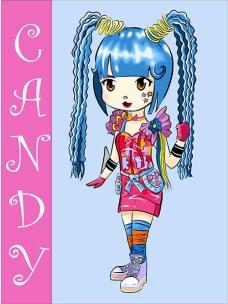 Kawaii Monster Candy por Sofis