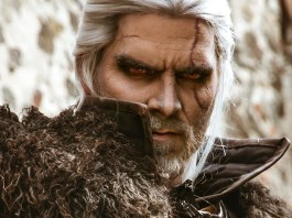 geralt the witcher maul cosplay