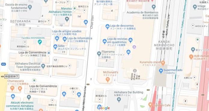 ruas de toquio