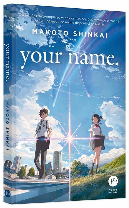 your name livro capa