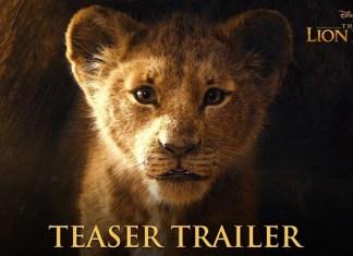 o rei leao trailer