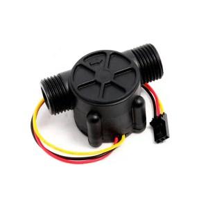 Sensor de flujo por efecto Hall