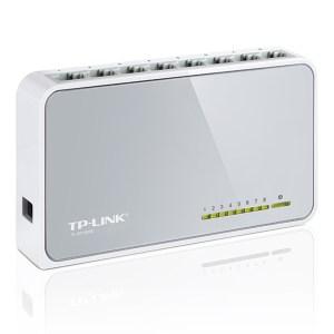 Suiche De Red 8 Puertos 10/100Mbps Tp Link TL-SF1008D