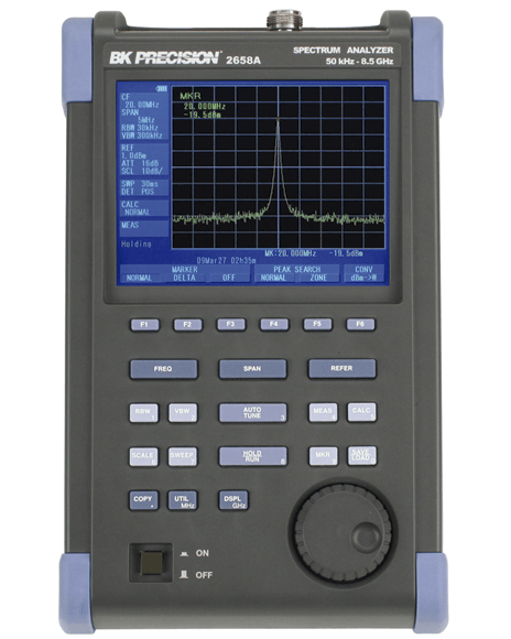 Analizadores De Espectro BK Precision 2650