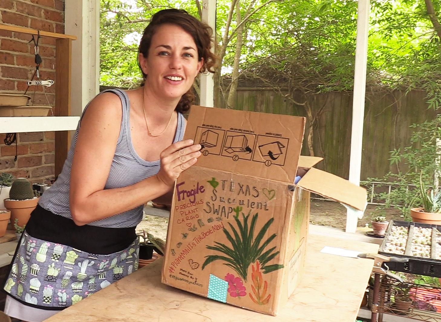 Succulent swap unboxing - Sucs for You