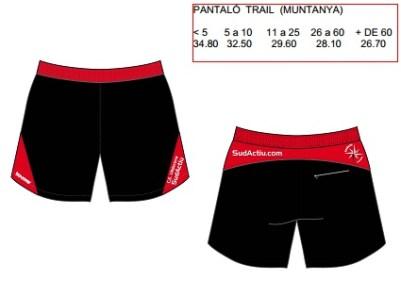 Pantalons trail