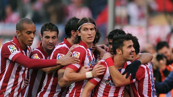 أتلتيكو مدريد يقلص الفارق مع برشلونة سودافاكس