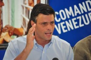 López durante una intervención previa a su detención