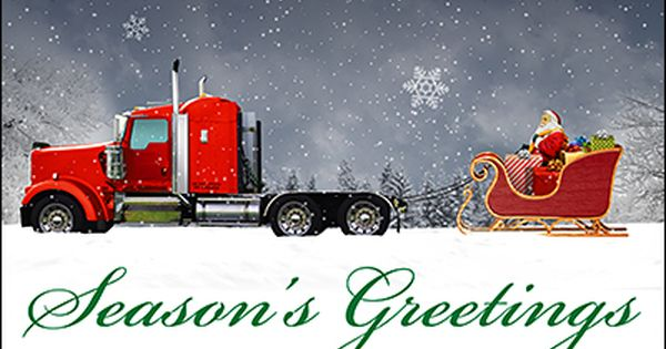 Merry Christmas Truck Drivers