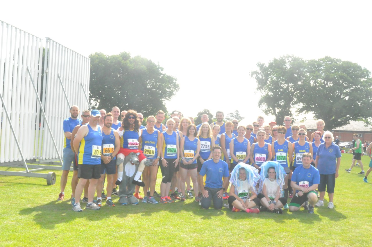 Club Photo at Ekiden