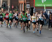 Sudbury Fun Run 2018, the start