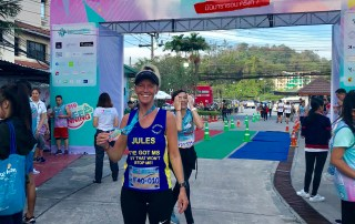 Jules Cooper at Siriroj Hospital Run