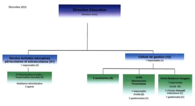 Organigramme cellule gestion - copie