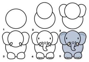 drawing easy mom guide draw drawings step simple peasy cool children animals parents fun dibujos dibujar tekenen learn hacer cartoon