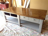 Coffee table chalk paint makeover  suddenly inspired