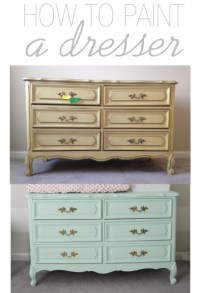 Harpers dresser makeover  suddenly inspired