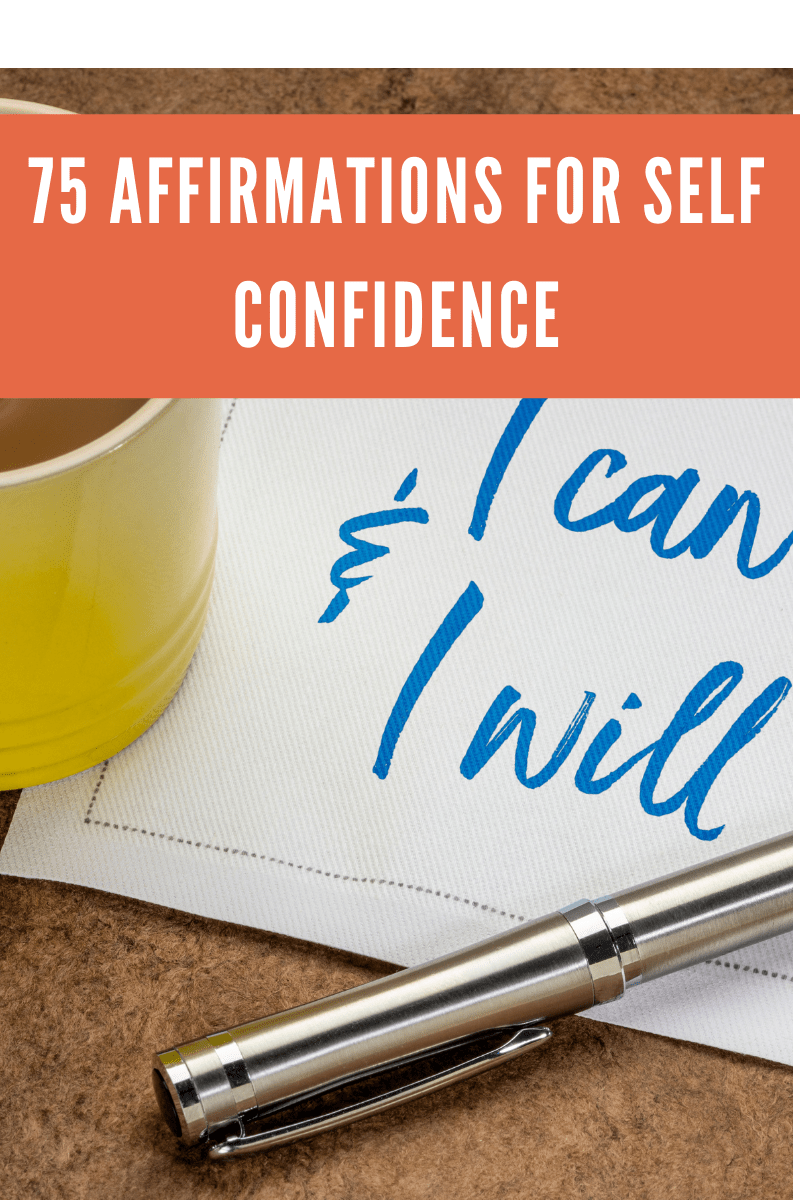 75 Affirmations For Self Confidence