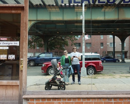 Family portrait, 31st Street, Astoria, Queens
