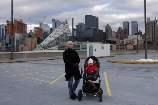 On Hudson River Pier 92