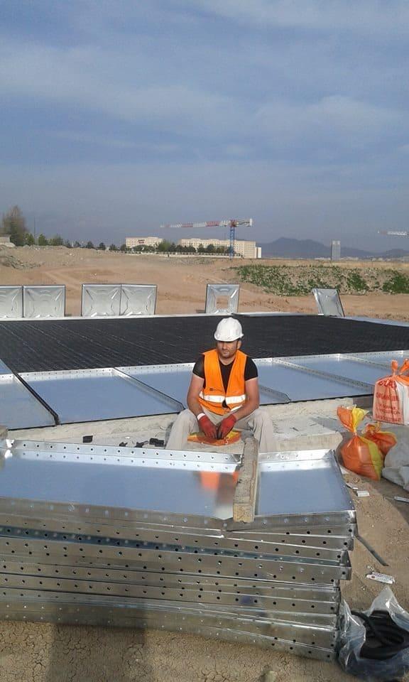 ankara modüler su deposu montaj firması