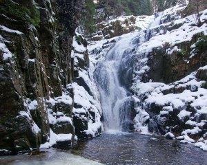 Wodospad i wąwóz Kamieńczyka