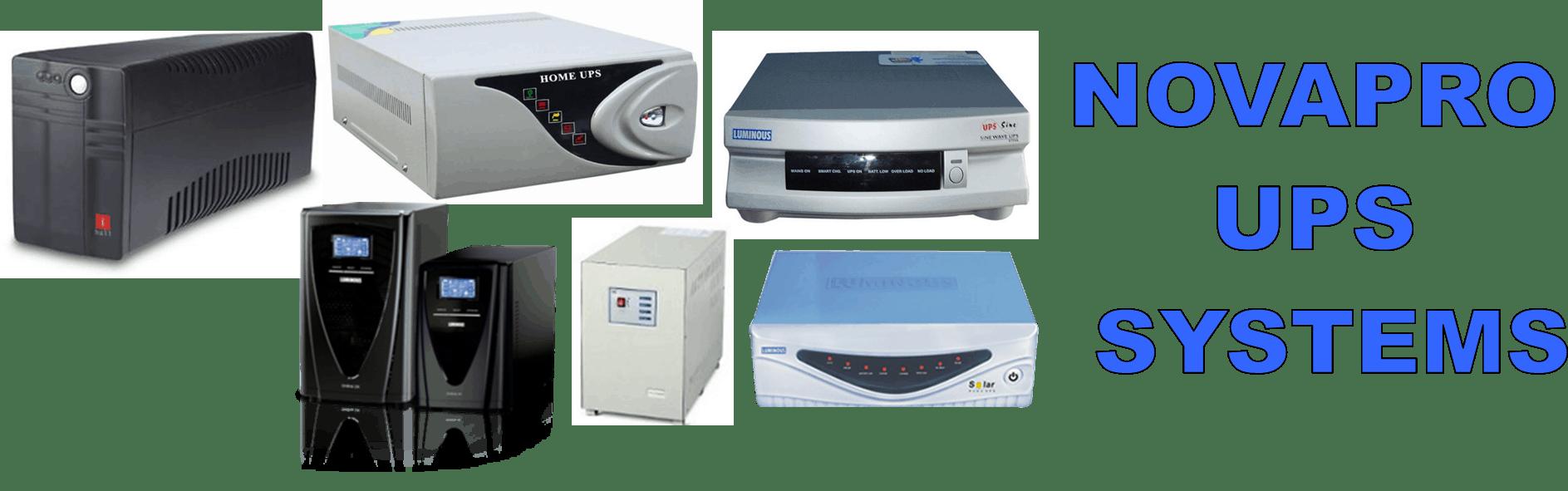 NOVAPRO UPS SYSTEMS