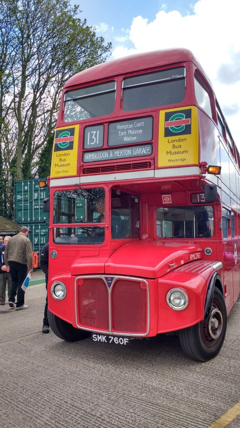 Routemaster at the depot open day