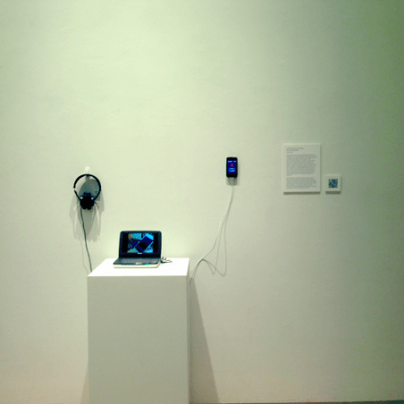 NoiseCity Radio installation at 2012 Mixed Messages Graduate Showcase
