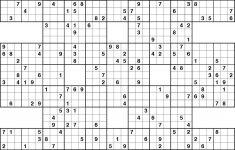 26 Free Printable Sudoku Puzzles 16X16, 16X16 Free