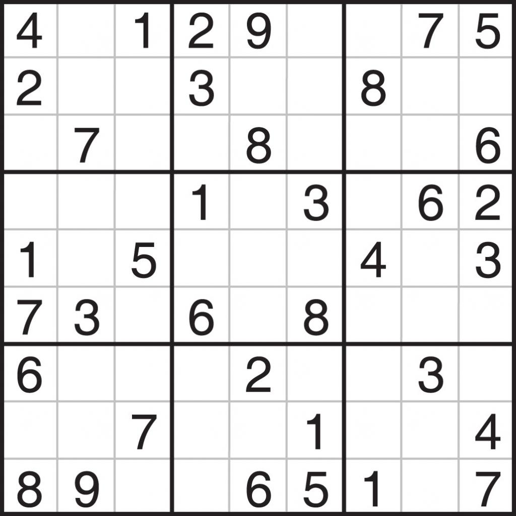 Printable Blank Sudoku Puzzle