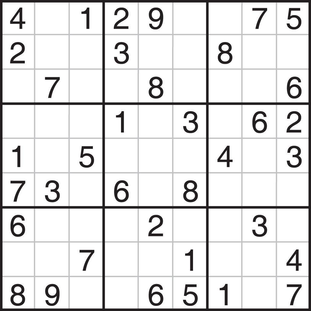 6 6 Blank Sudoku Printable Worksheets