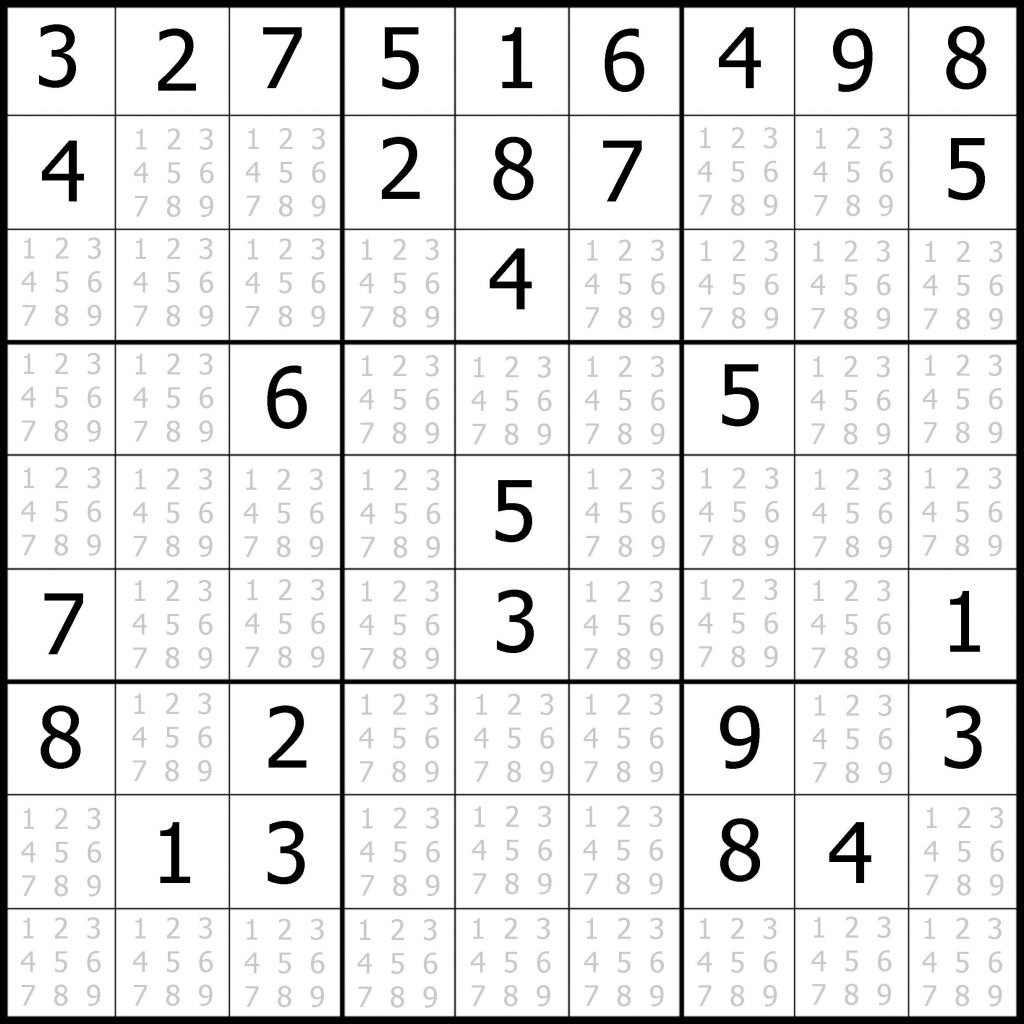 Lovely Blank Sudoku Worksheet