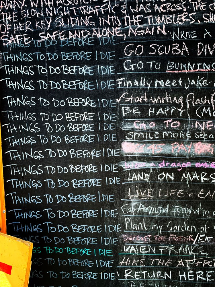 list of things to do before die