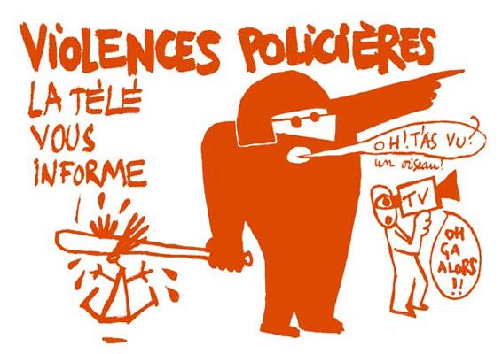 Communiqué de presse suite aux violences policières