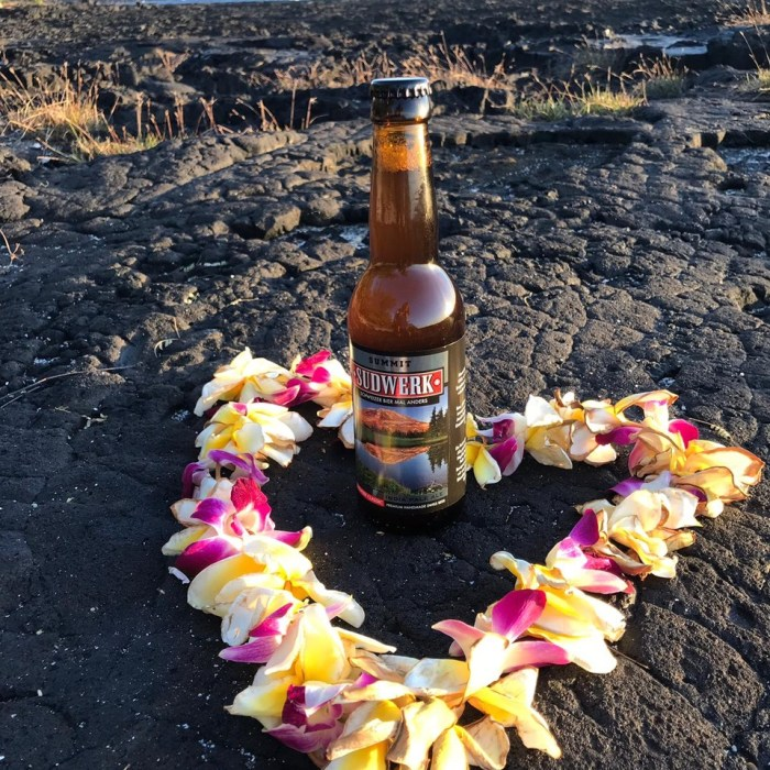 Sudwerk 'Summit' (IndiaPaleAle) auf Hawaii