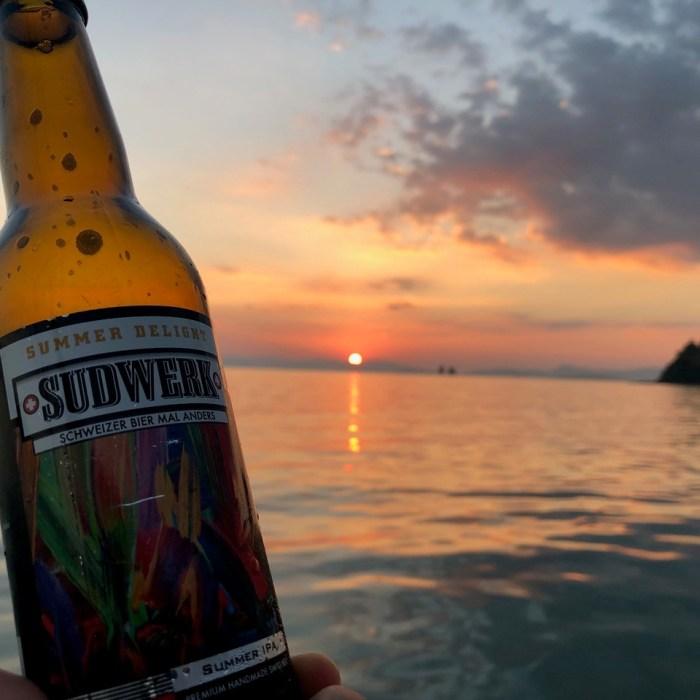 Sudwerk 'SummerDelight' (SummerIPA) in Thailand
