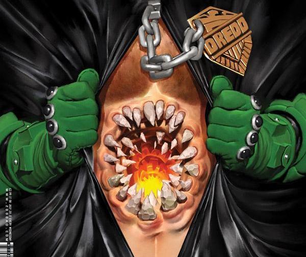 Судья Дредд, обложка журнала 2000 ad #2189