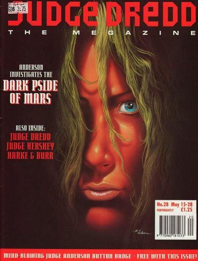 Обложка журнала judge dredd megazine #048 (2.28)