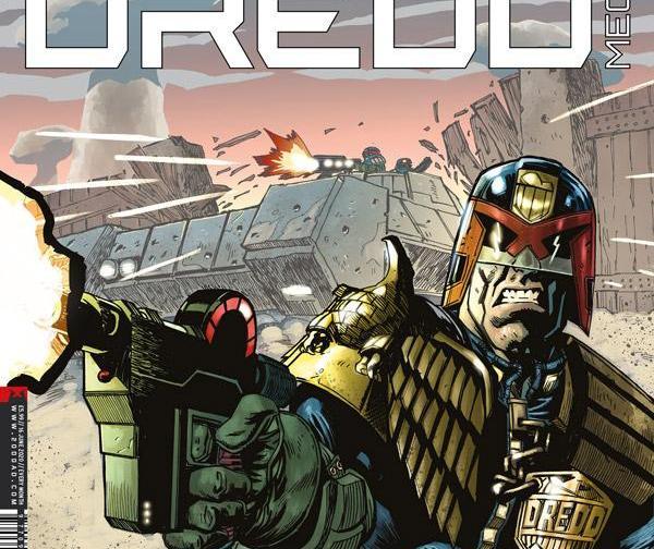 Обложка журнала judge dredd megazine #420