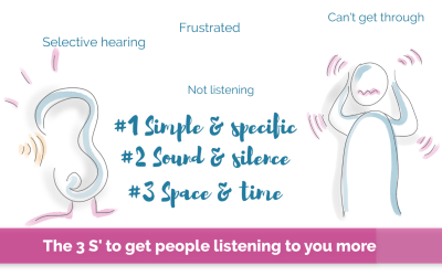 #101   3 S's to get people listening more