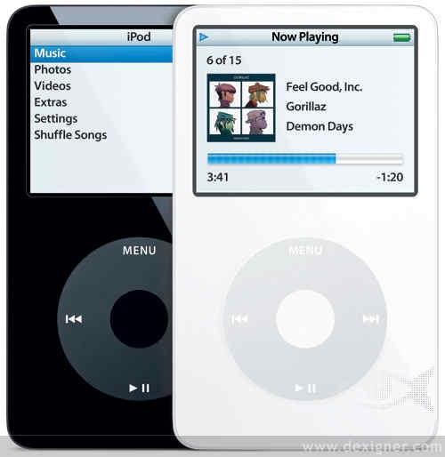Cinquième génération iPod Classique