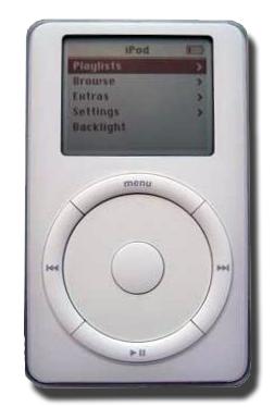 Deuxième génération de iPod