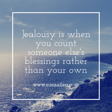 Jealousy is whenyou count someone else's (1)
