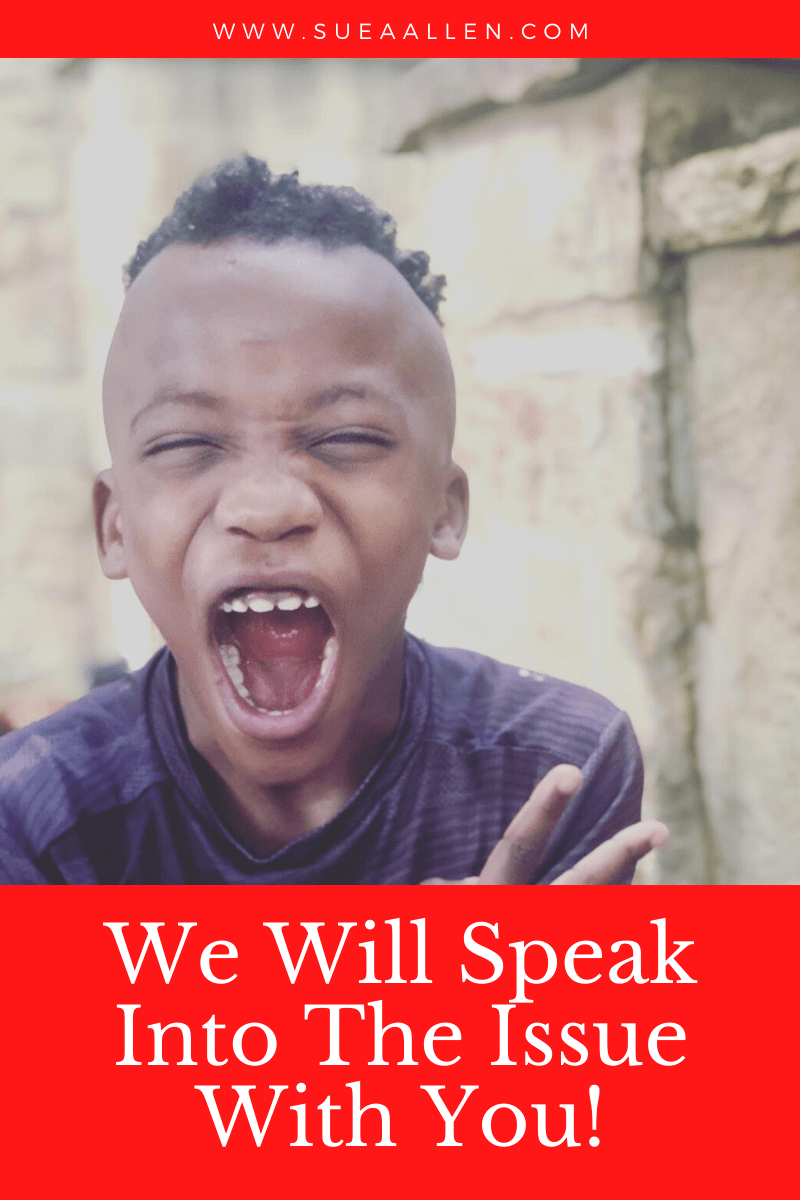 We will speak into racism with you
