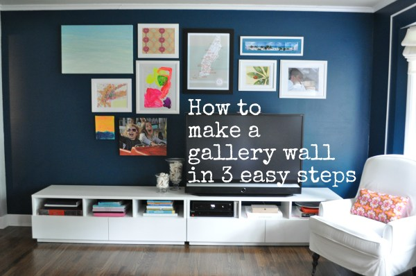 Gallery Wall at Home