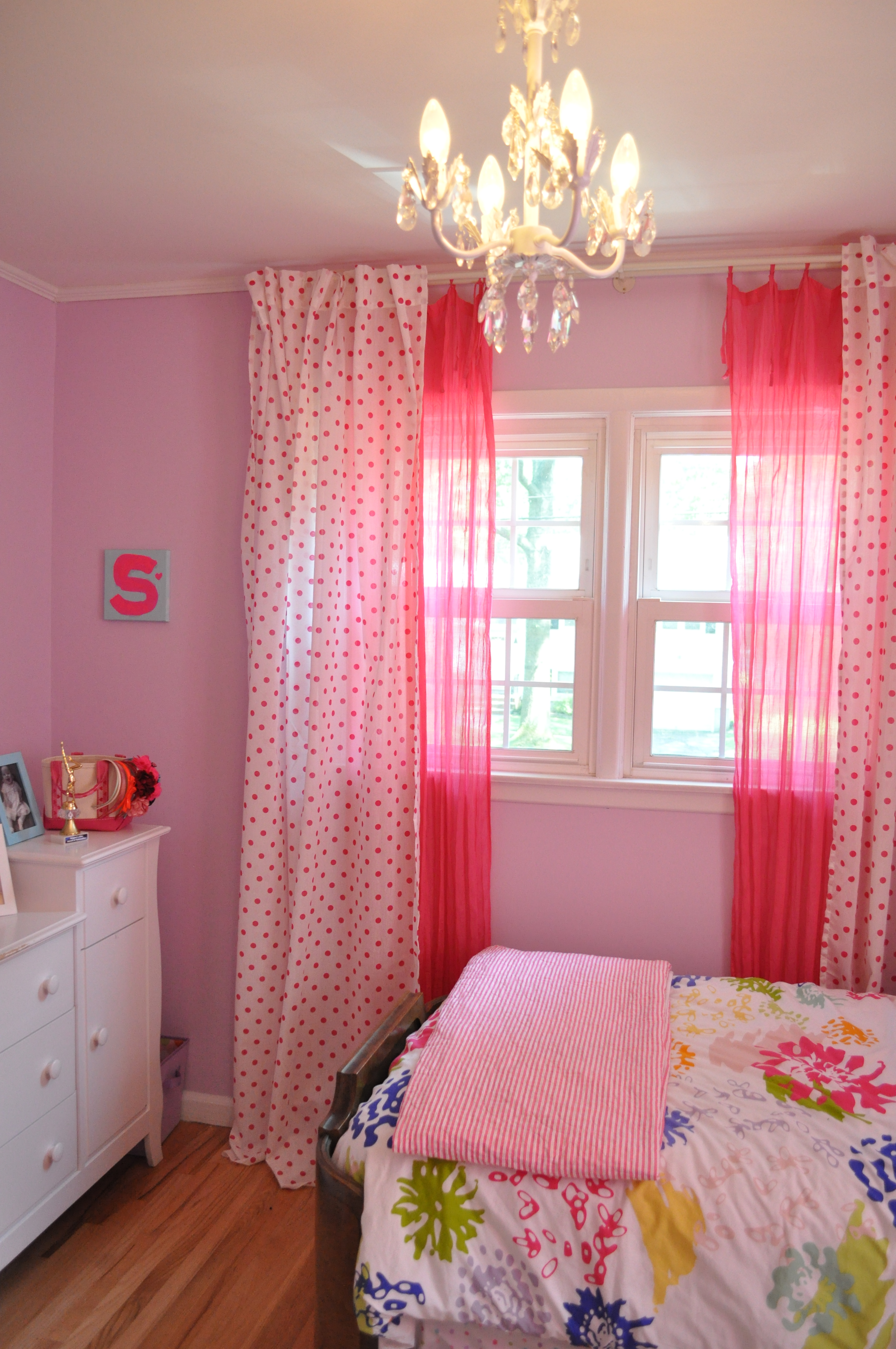 DIY Lengthening our Master Bedroom Curtains  Sue At Home