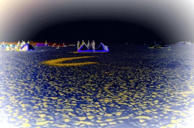 Moonscape effect via inversion